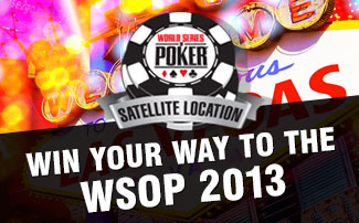 World Series of Poker Satellites 2013
