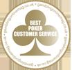 Premio per il miglior servizio clienti a Titan Poker