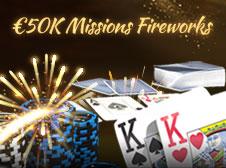 €50K Missions Fireworks