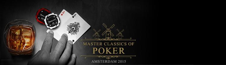 Ganhe seu pacote de prémio para o Master Classics of Poker