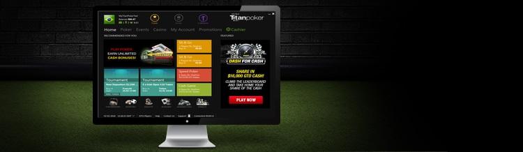 Novo software beta do Titan Poker