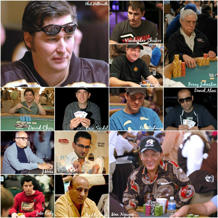 wsop all time top performers prior to 2014 wsop