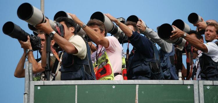 Medienberichterstattung mit Standkameras