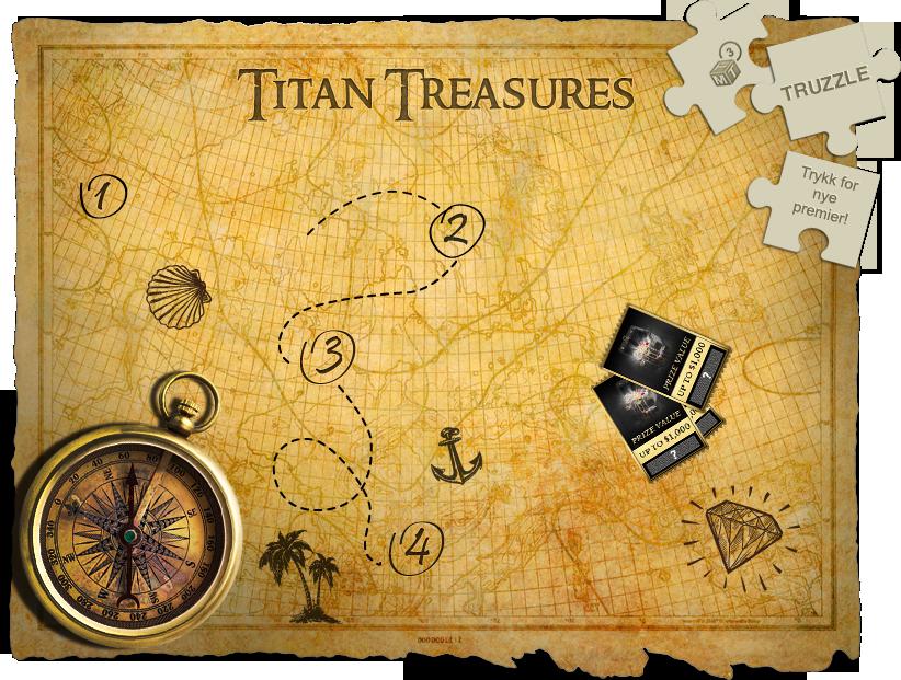 Titan Treasures Map