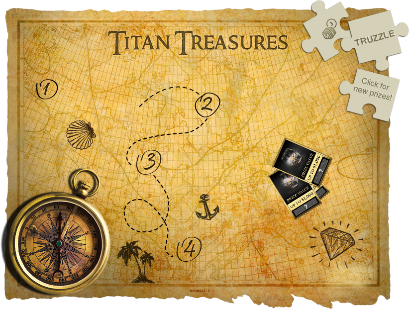 Titan Treasures Map