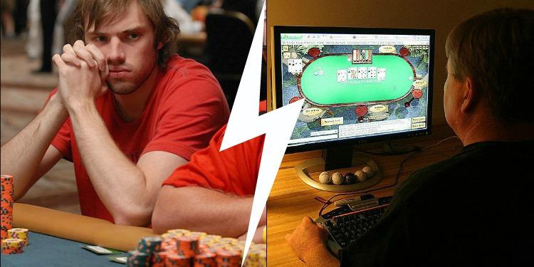 Poker players living in vegas