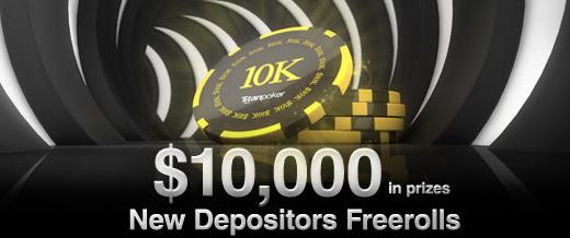 Внесите 1-й депозит, чтобы побороться за часть от $ 10 000!