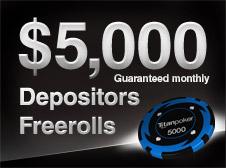 Depositors Freerolls