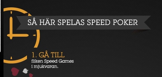 Speed Poker Infographic