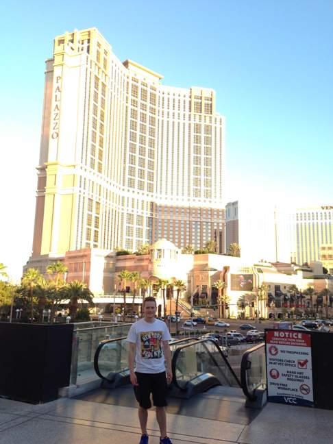 Martin Tano in Vegas