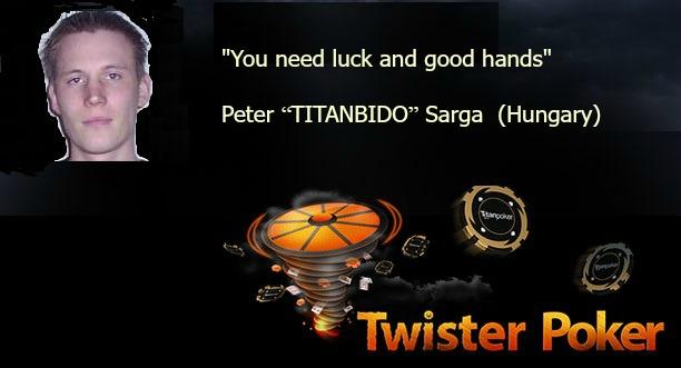 """Peter """"TITANBIDO"""" Sarga"""