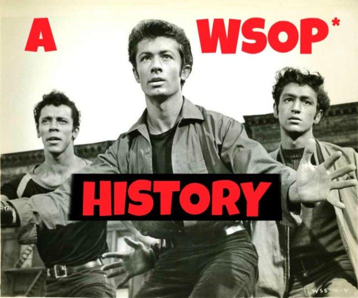 brief history of the wsop