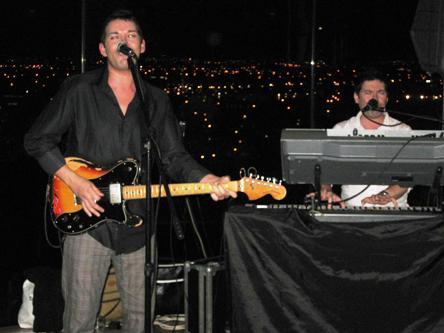 The band rock at the Gravity Bar