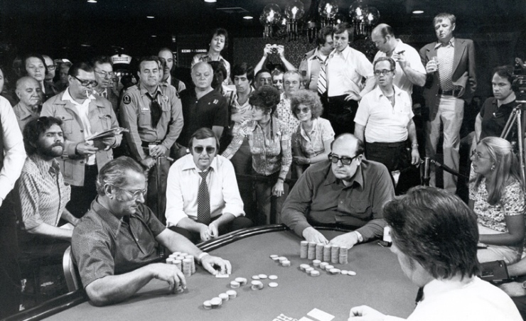 Doyle Brunson at the 1976 World Series of Poker (photo credit: University of Nevada at Las Vegas Special Collections on the World Series of Poker, used according to the GNU Free Documentation License.)