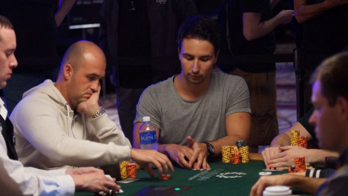 Alen Bilic on Day 2 of WSOP Event #60