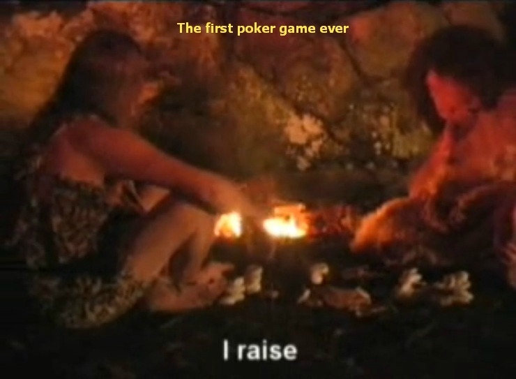 From the Evolution of Poker video