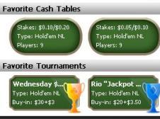 Favorite Cash Tables