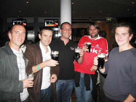 Good time at the Gravity Bar in Dublin