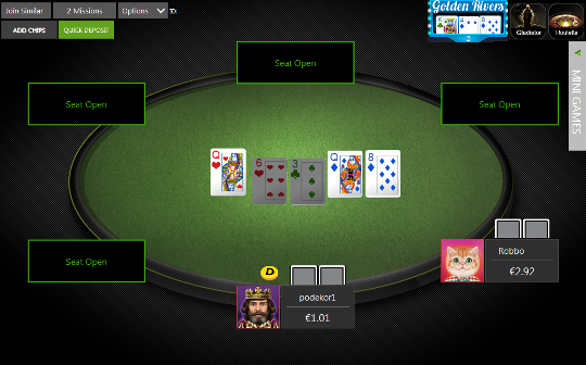 Poker alto baixo regular