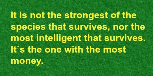 strongest survive