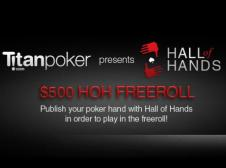 Hall of Hands freeroll
