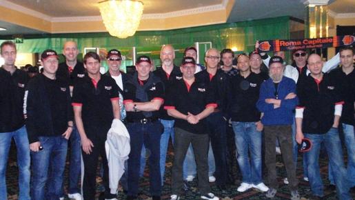 Les joueurs Titan Poker à l'Irish Open 2009