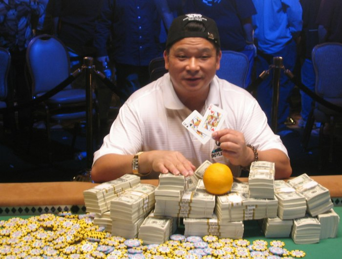 Johnny Chan poker superstitions