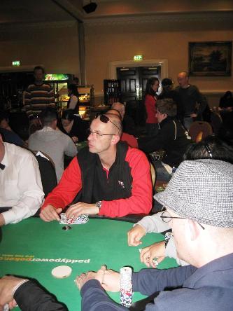 Titan Poker Leon de Rouw advances to day 2