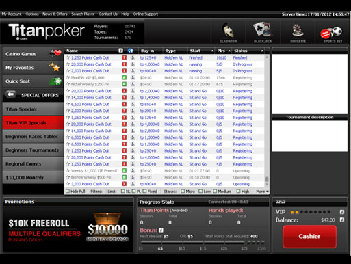 Pokerstars free tournaments real money