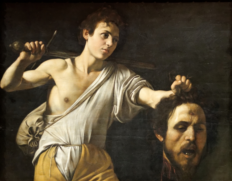 David with the Head of Goliath, painting by Michelangelo Merisi da Caravaggio
