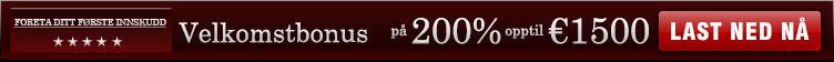 200 % OPPTIL €1 500