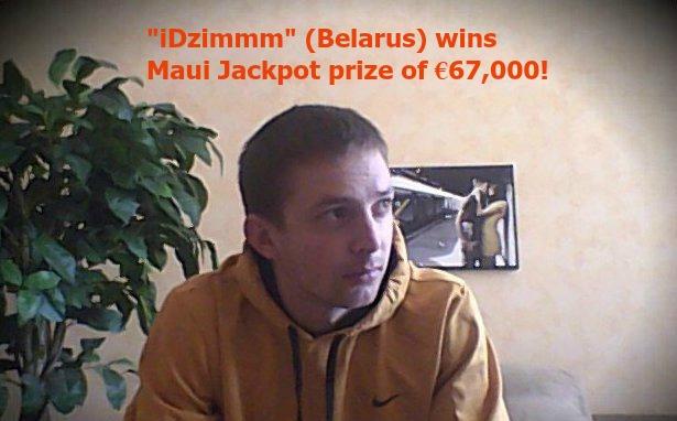 Maui Jackpot winner