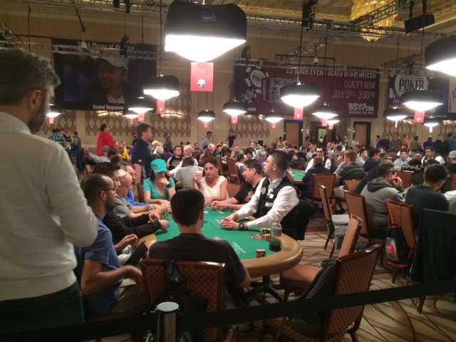 playing the WSOP