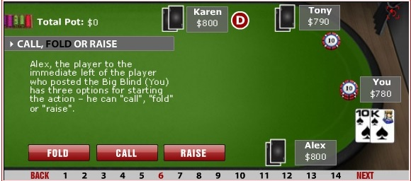 What rainbow means in poker