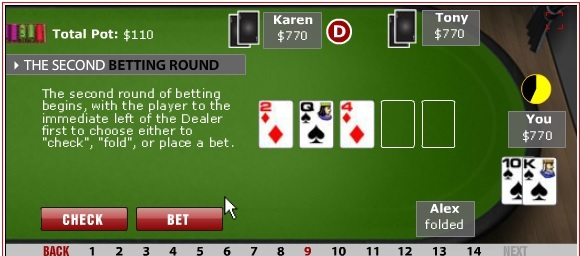 Poker term for four aces
