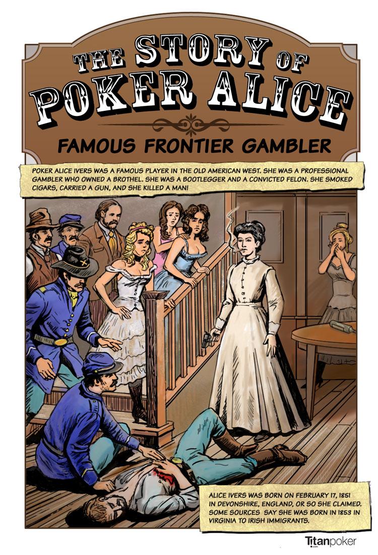 poker alice - famous frontier gambler - page 1 - titanpoker