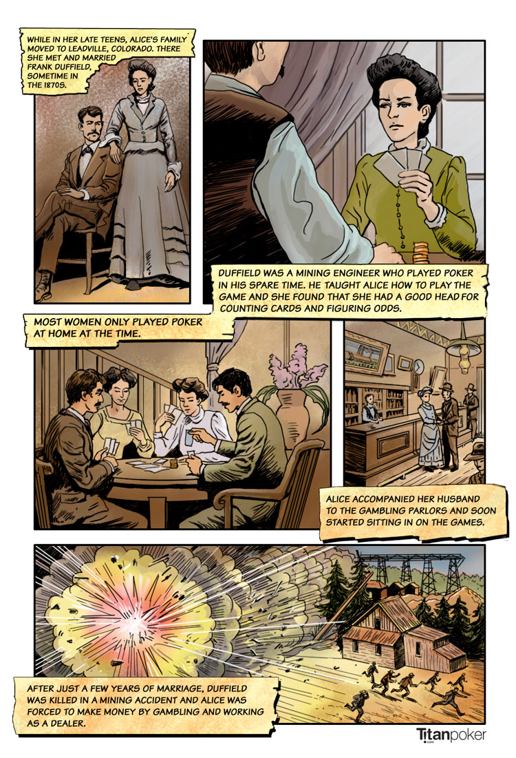 poker alice - famous frontier gambler - page 2 - frank duffield - first husband - titanpoker