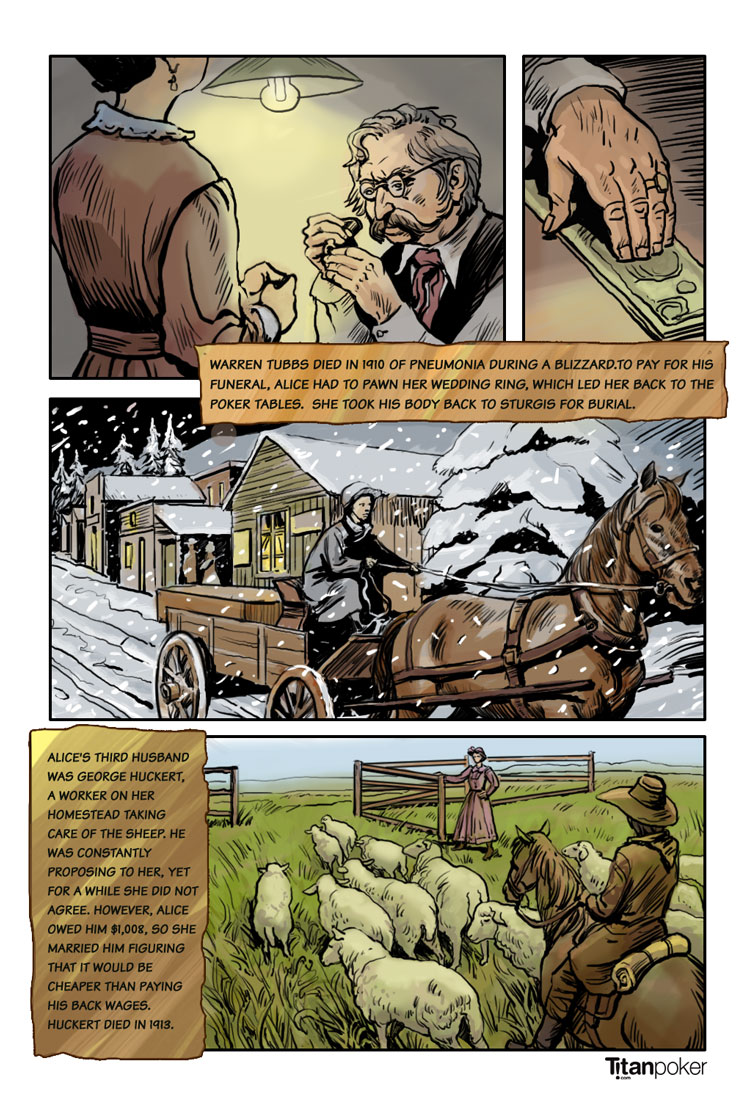 poker alice - famous frontier gambler - page 6 - marries george huckert - titanpoker