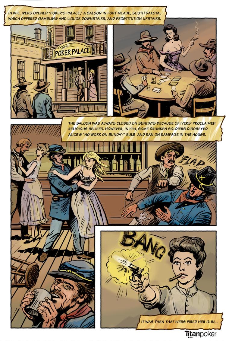poker alice - famous frontier gambler - page 7 - alice fires her gun - titanpoker