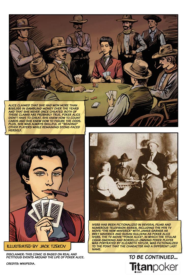 poker alice - famous frontier gambler - page 9 - alice end - titanpoker