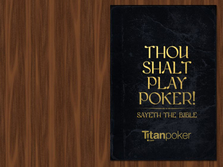 titan poker holy bible