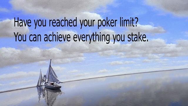 limit poker