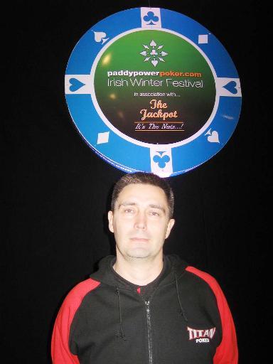 Titan Poker player Reidar Hansen