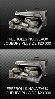 Freerolls Nouveaux Joueurs
