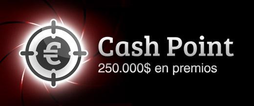 Promoción de poker Cash Point
