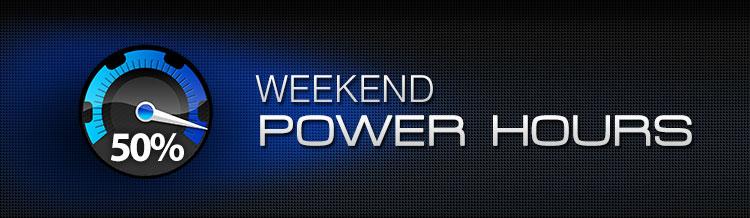 Weekend Poker Hours