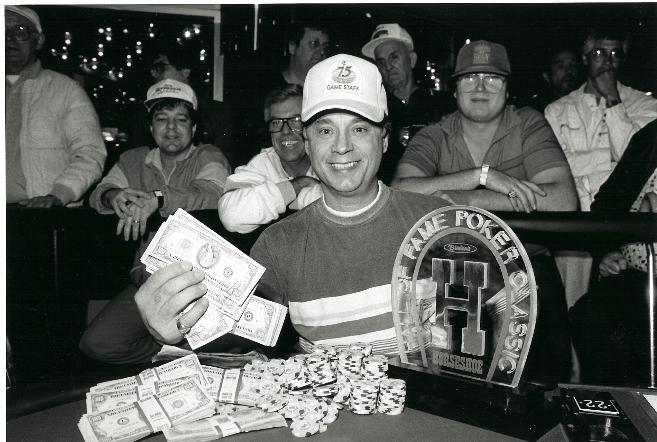 Vince Burgio wins