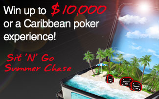 Sit 'N' Go Summer Poker Chase