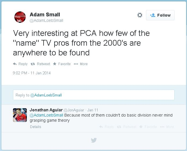 twitter Capture Adam Small Poker